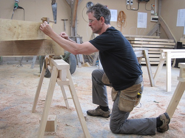 Scribe Rule timber frame