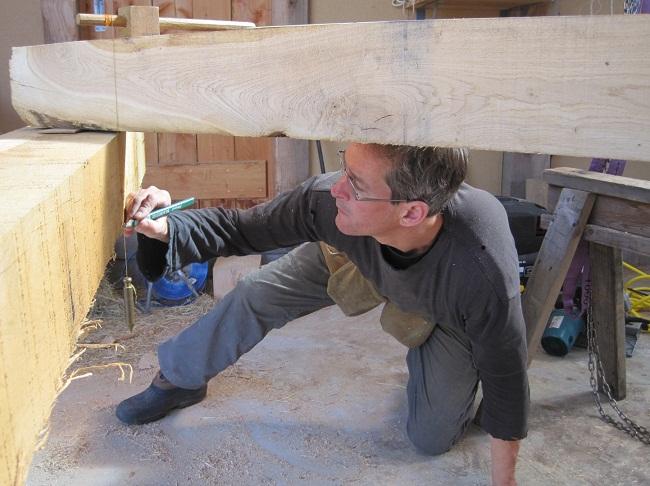 Timber frame oak framed