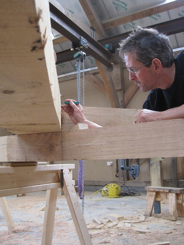 Timber frame scribe rule