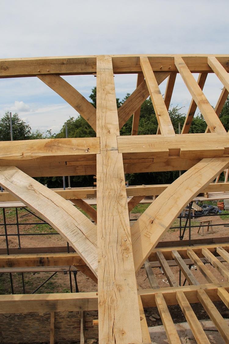 Castle Ring Oak Frame Splines