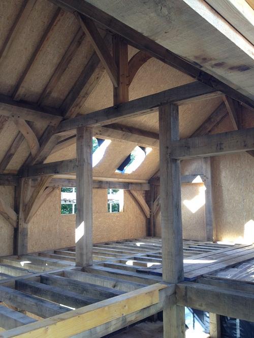 SIPS Oak Frame House Sips panels timber frame