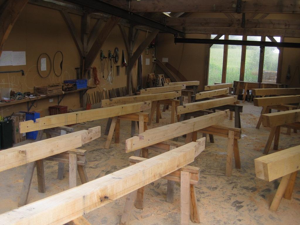 Castle Ring Oak Frame Workshop