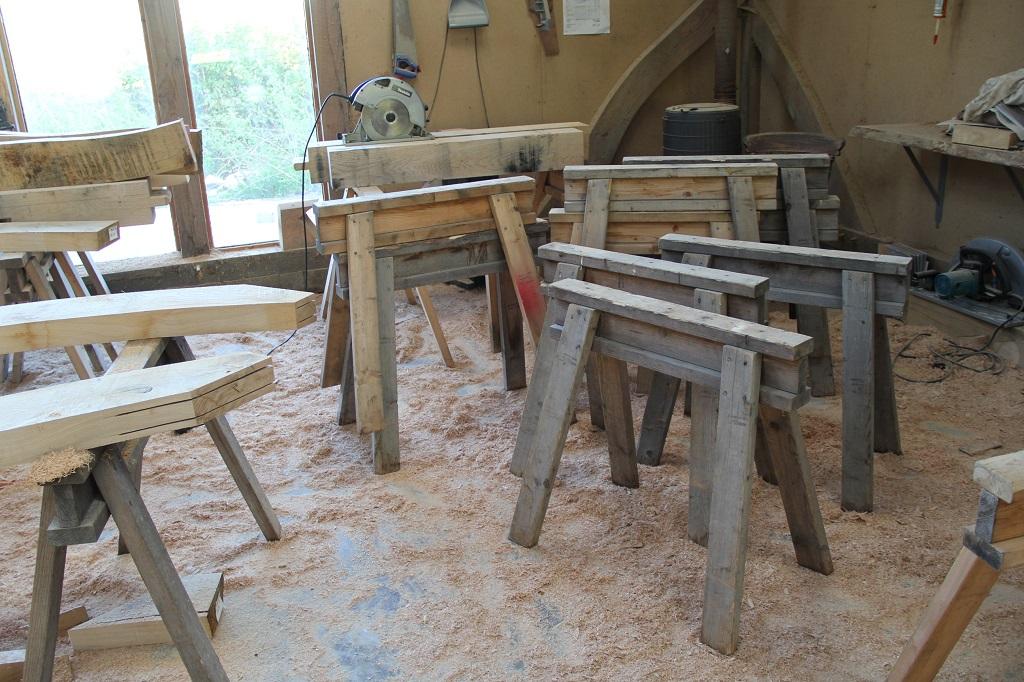 Saw Pony | Trestle | Timber frame | Oak frame