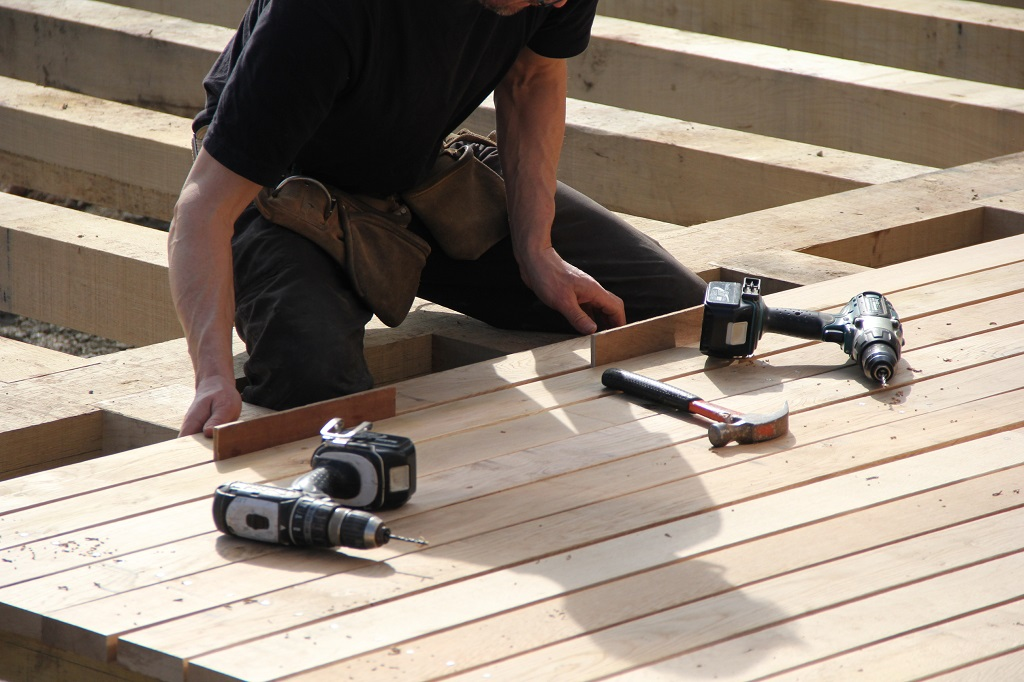 decking fixing boards
