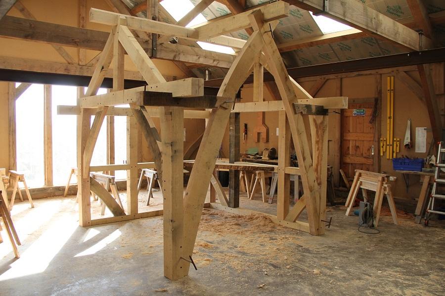Castle Ring Oak Frame Homebuilding exhibition NEC