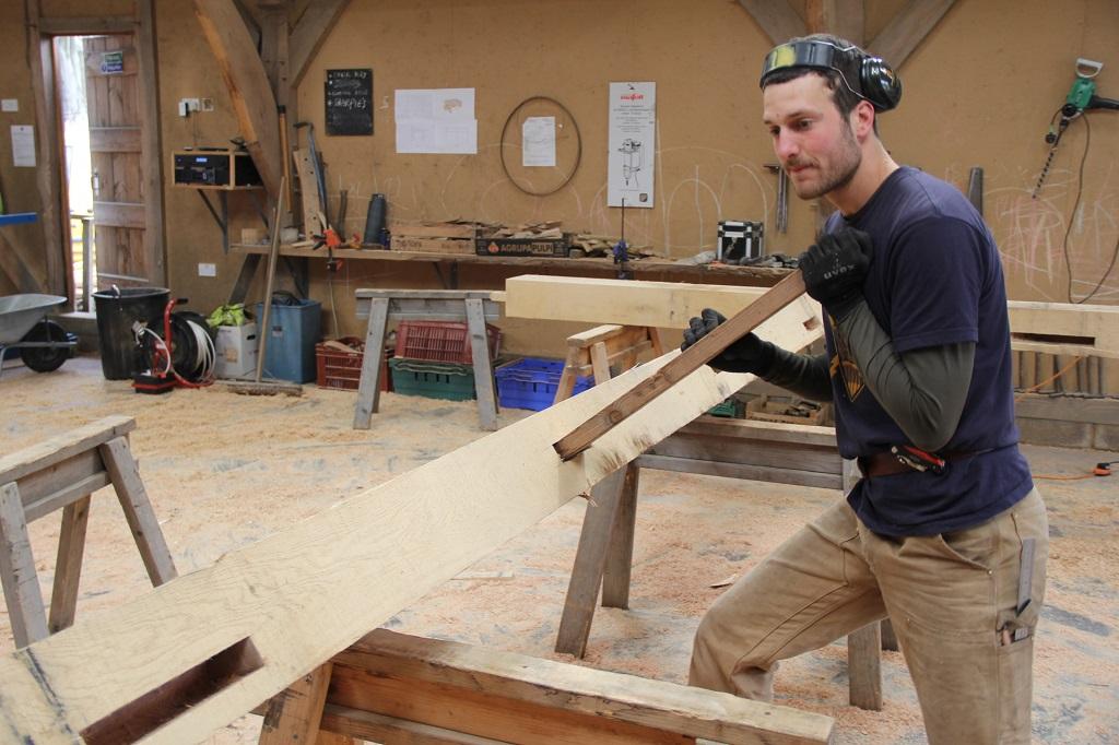 Castle Ring Oak Frame Jacob timber framer