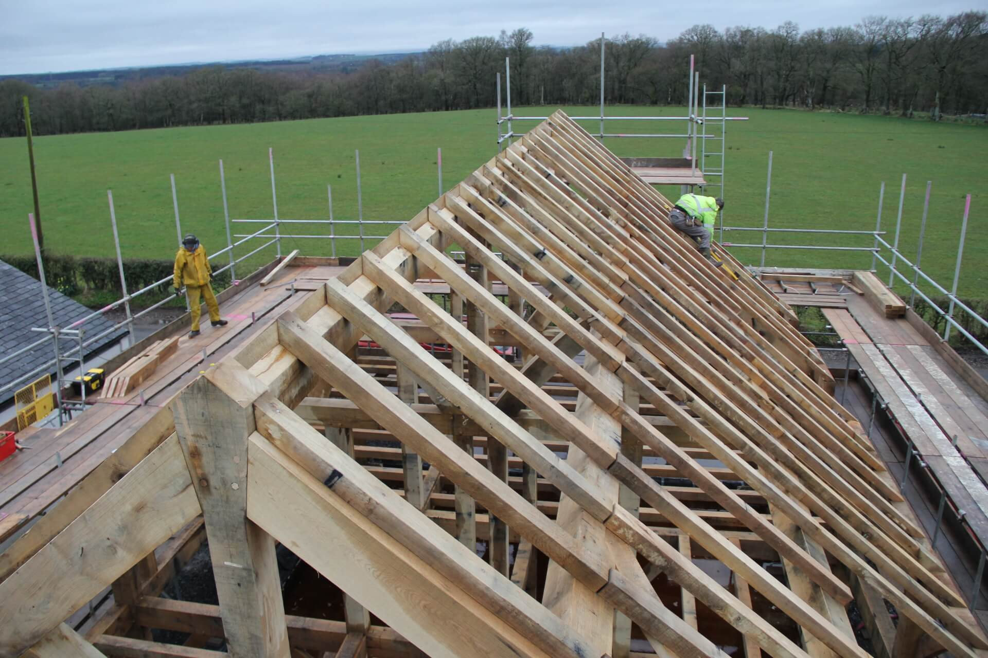 Rob Dawson timber framer