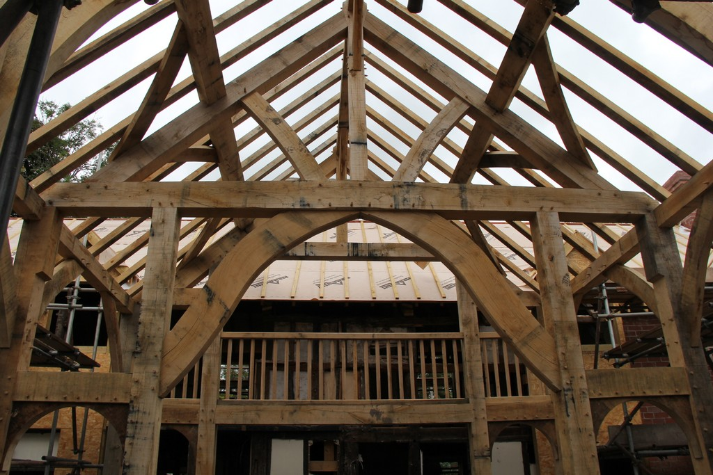 Castle Ring Oak frame woodworking