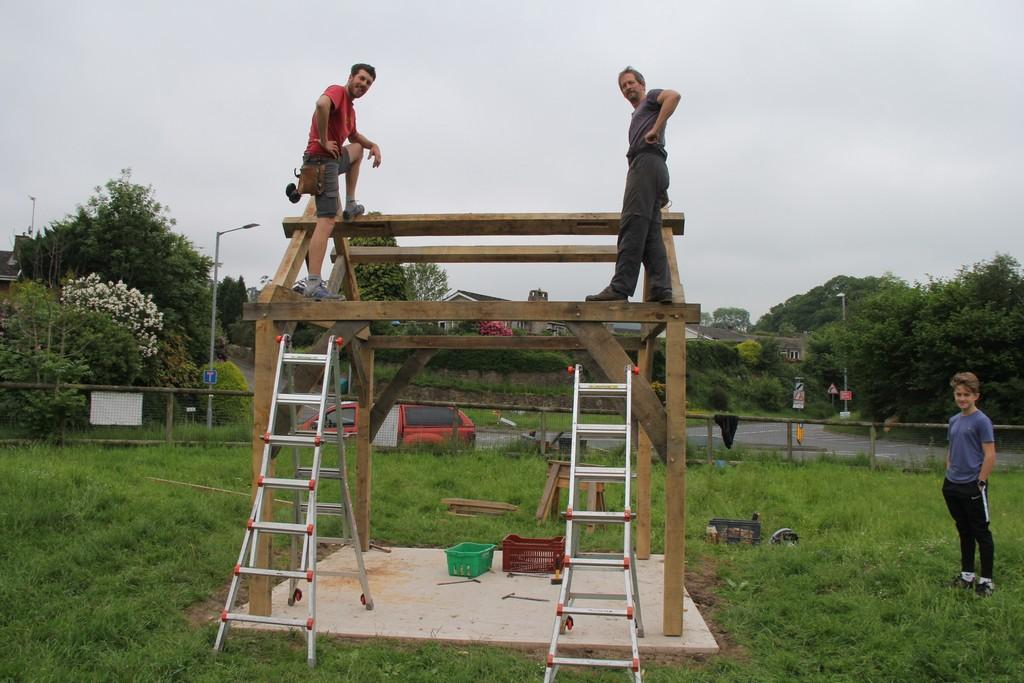 Playground oak frame