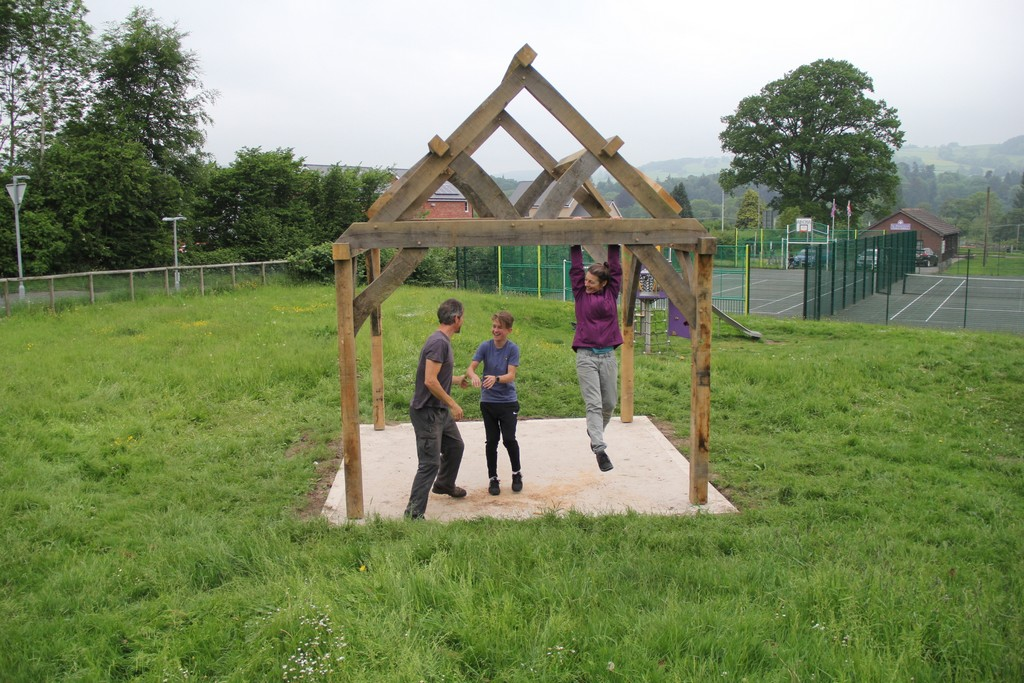 Presteigne playground Powys