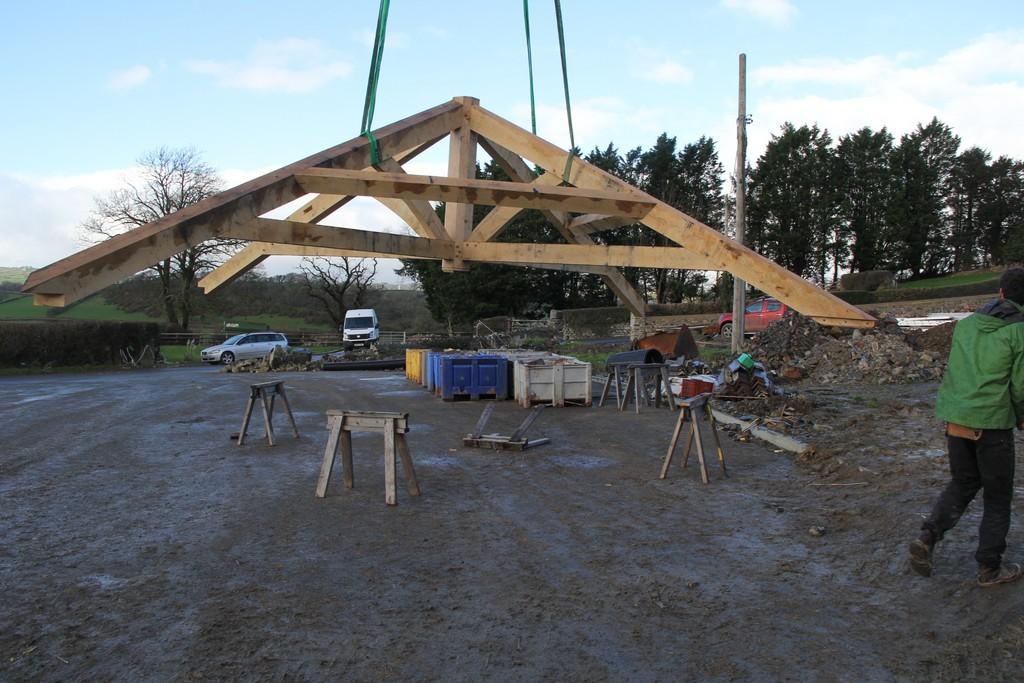Oak Frame building timber