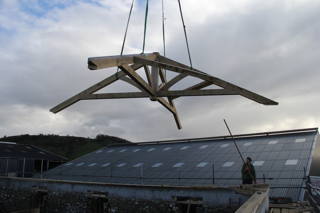 roof structure barn