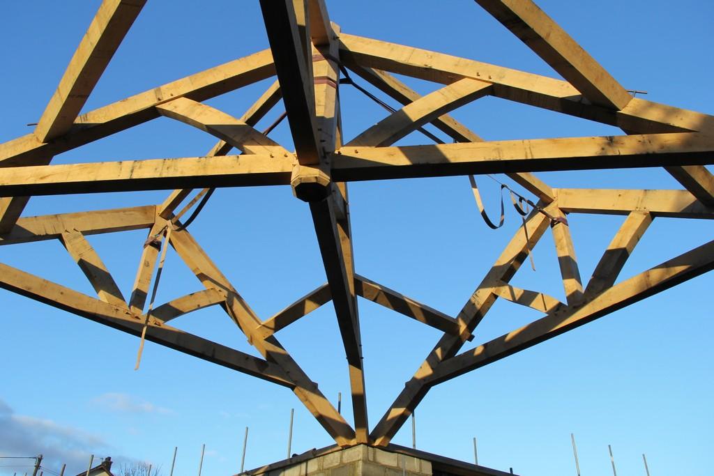 Castle Ring Oak Frame barn