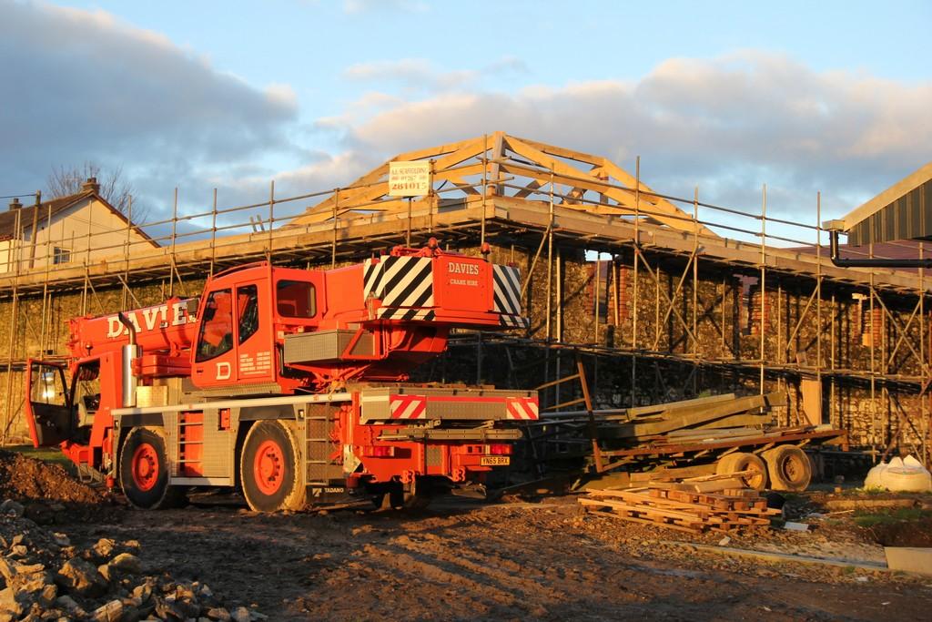hip rafter timber frame