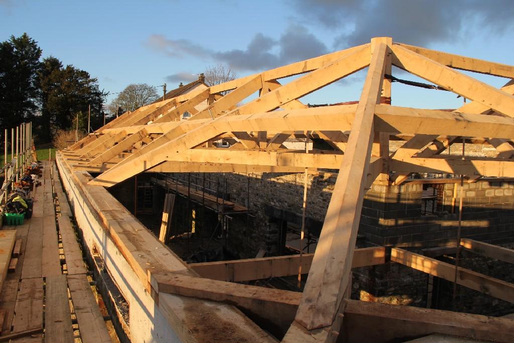 barn oak frame Castle Ring