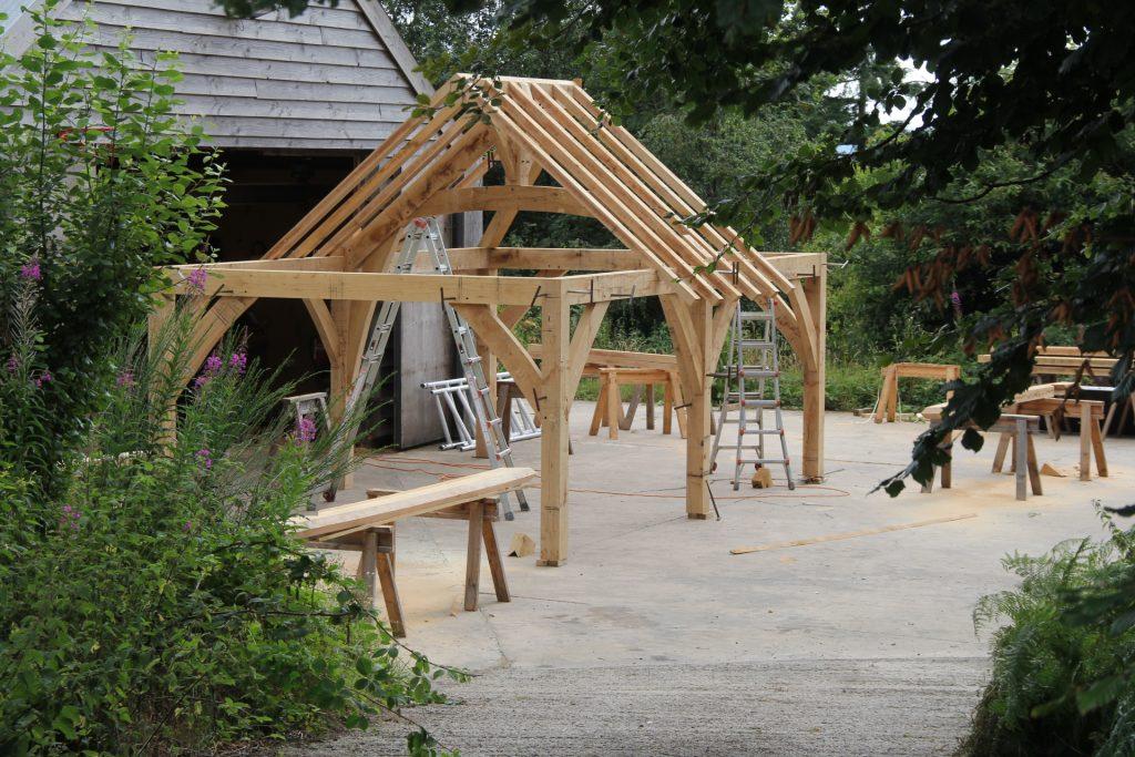 Castle Ring Oak Frame kitchen