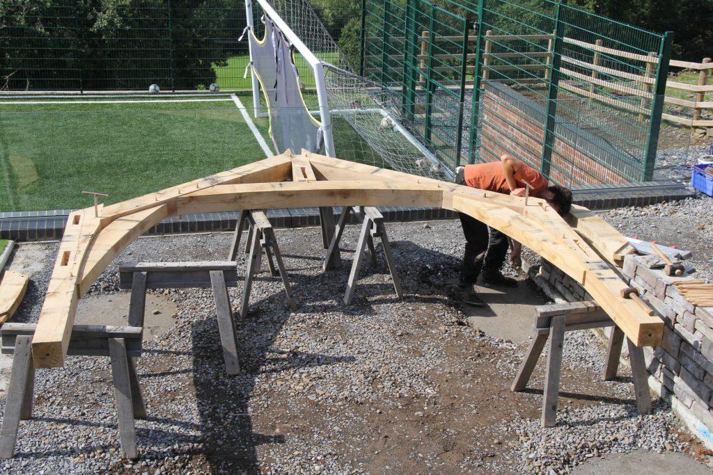 Welsh oak frame project