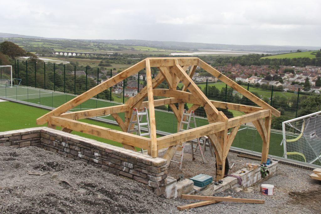 Oak timber frame Wales