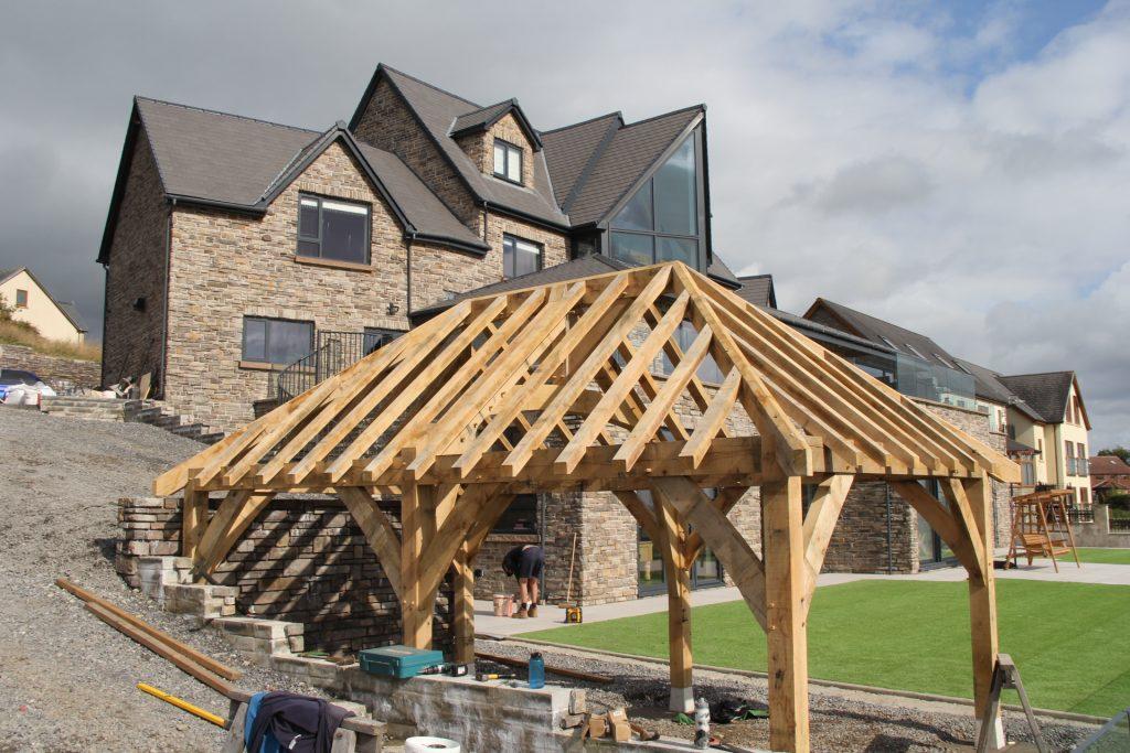 Castle Ring Oak Frame Wales