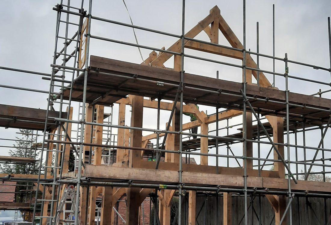 Castle Ring Oak Frame Weobley house